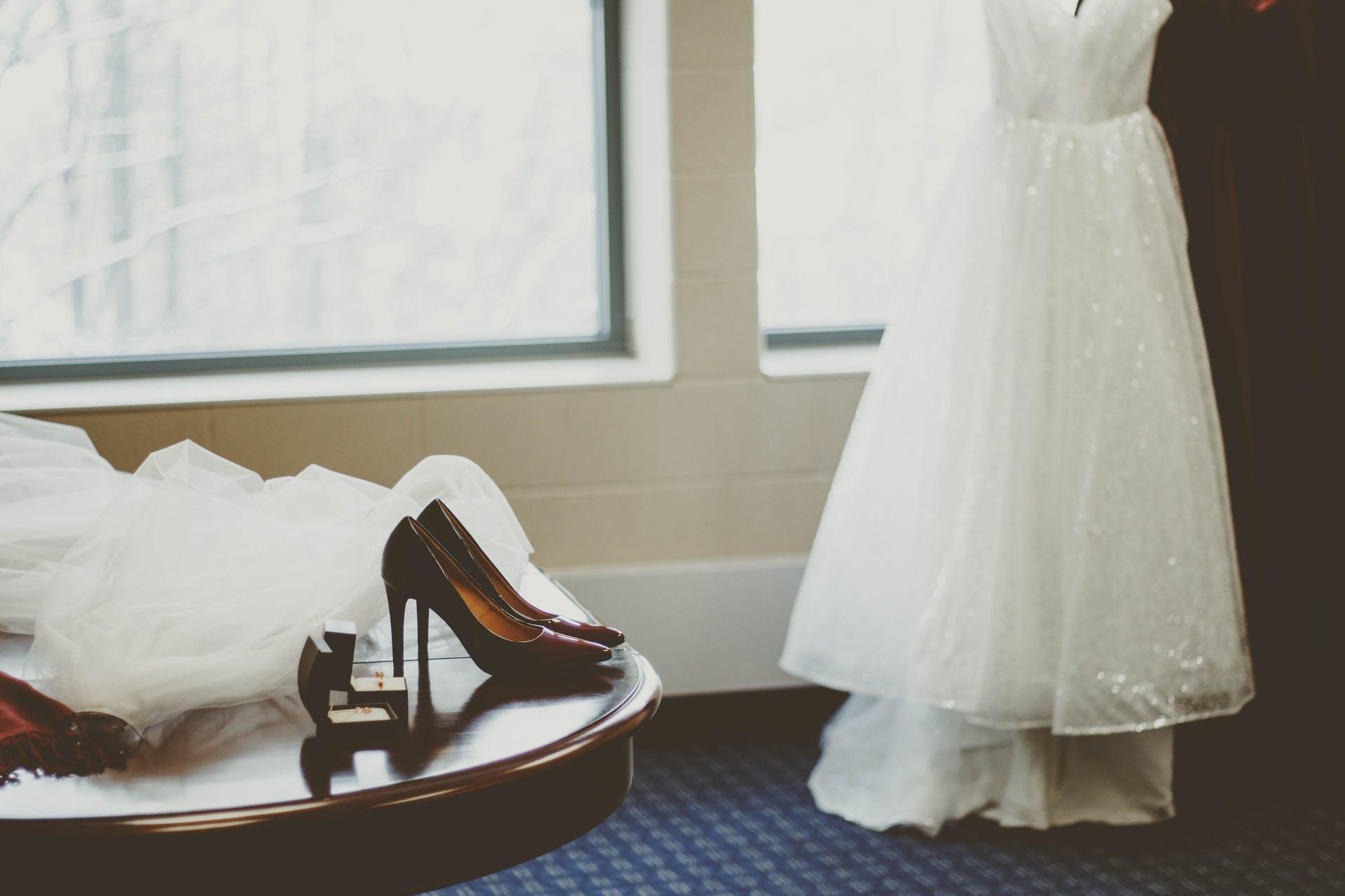 gown wedding indoors wedding gown wear wedding dress bridal dress