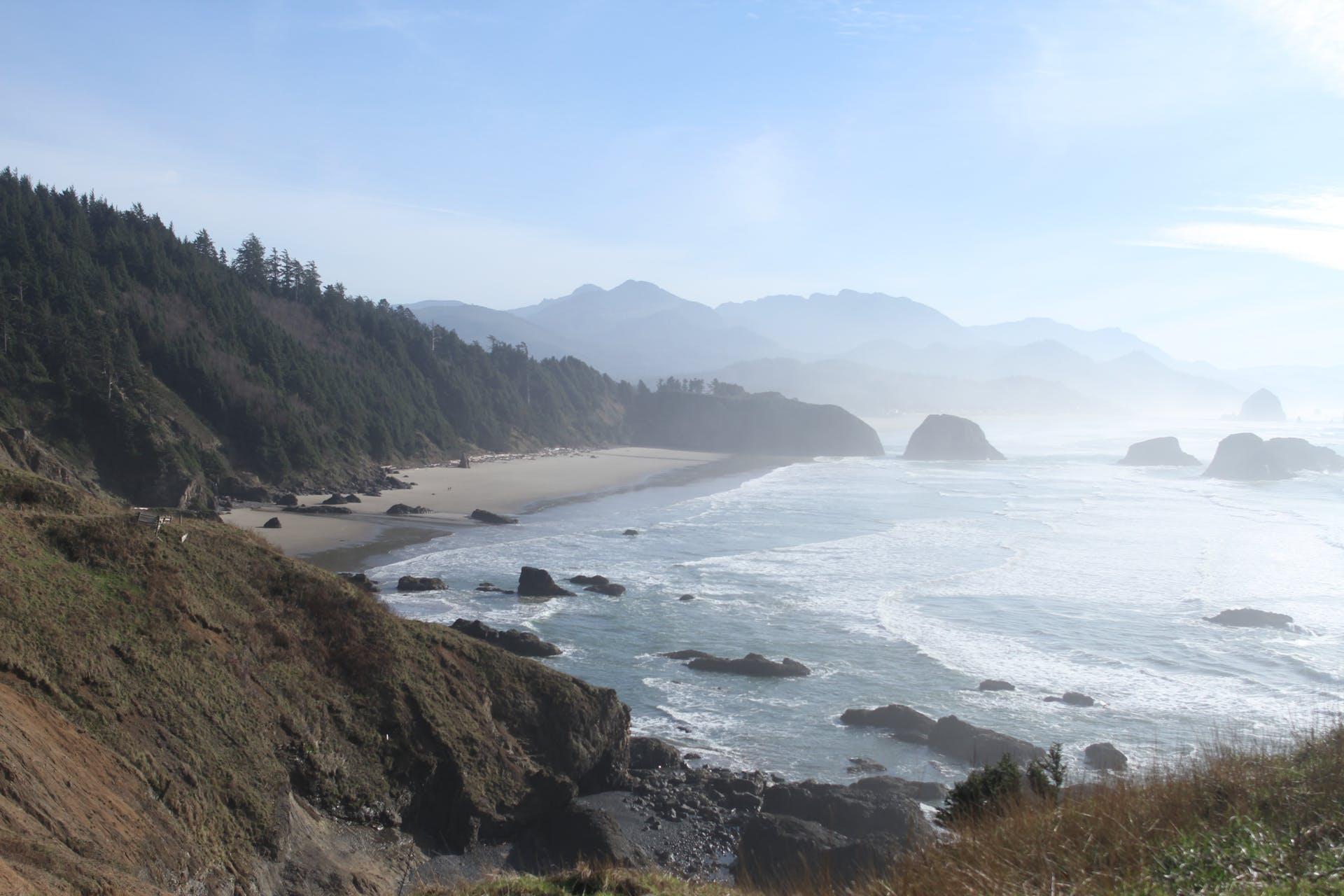 pacific northwest ocean coast day pacific