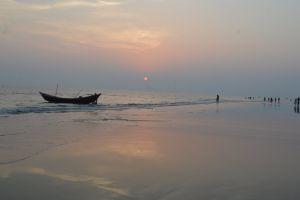 beach boat bangladesh beauty in nature