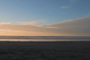 beach ocean walking sunrise man sunset dawn lonesome seaside male