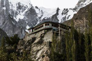 beautiful rock building scenic mountain monastery ancient architecture stone landscape