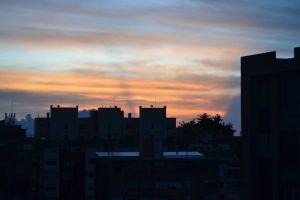bogota colombia frio cold atardecer sunset