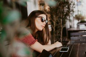brown hair pose sitting sunglasses beautiful woman beautiful brunette woman pretty adult