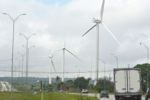 cars eolic road clean energy alternative energy