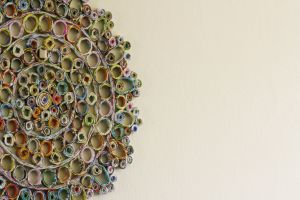 circles colored crafts art