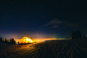 city view life night lights night sky winter tent night