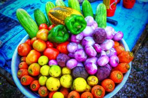 colorful vegitables nature