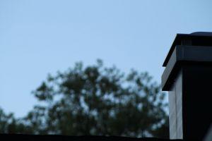 depth of field chimney sky