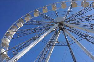 enjoyment fairground ride ferris wheel funfair recreation fairground rides low angle shot summer big wheel
