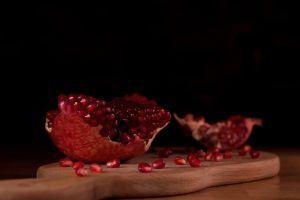 fruit sell lemon healthy market pomegranate diet freshness close-up delicious