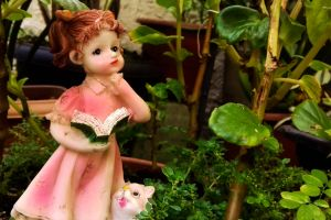 garden flower houseplants figurine garden