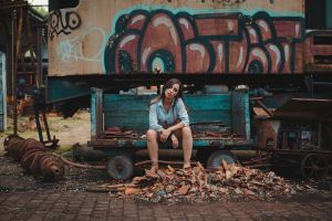 girl brazil blue folk vibe folkportraits portrait graffiti