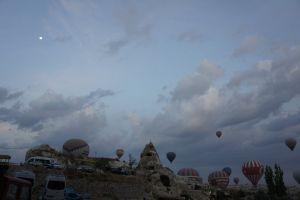 göreme sunrise turkey cappadocia