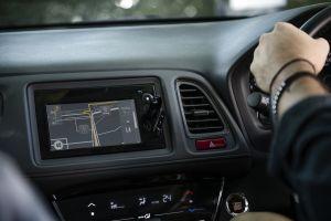 hand control dashboard automobile steering wheel car driver car interior vehicle driving