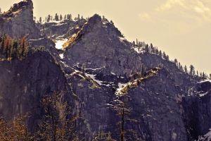 idyll rock face mountains idyllic wanderlust usa rocks sight yosemite traveling