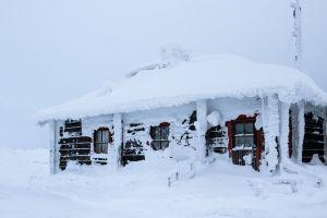 lapland winter snow finland
