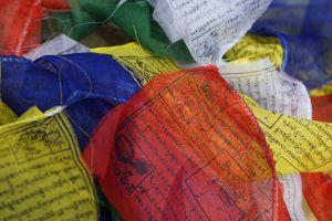 lgbtq colors bright colors flags prayer namaste nepal tibet prayer flags primary colors