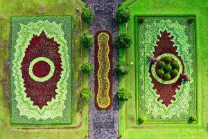 light landscape art indonesia color environment road grass aerial artistic
