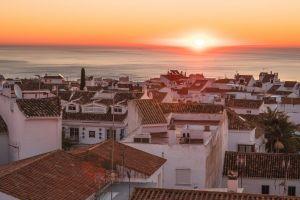 love village city sunny sunset sunrise