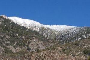 mountain view snow capped mountains mountain