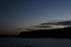 night photgraphy long exposure nature night grunge