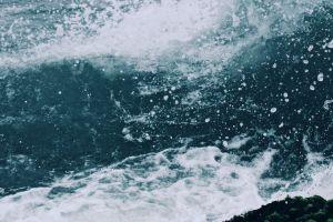 ocean sea water waves splash