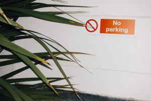 restriction parking sticker garden prohibited plants restricted environment daylight no parking