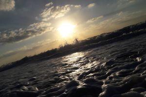 sea of clouds waves sea