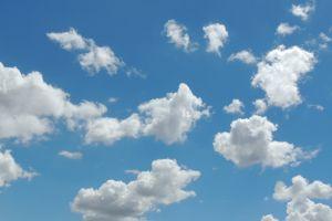 sky clouds blue sky