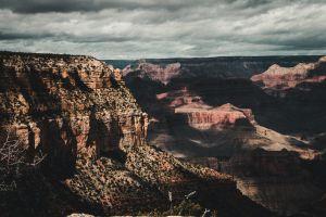 sky cloudy dramatic sky grand canyon dramatic