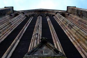 sky dunblane historic scotland pillars cathedral scotland johny rebel photography bathgate rebel panda wall historic building