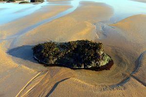 small island johny rebel photography bathgate low tide rebel panda seacliff beach sand scotland rock north sea