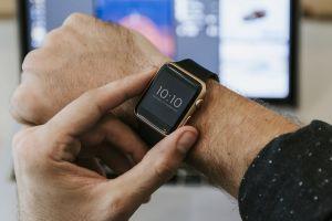 smartwatch wrist accessory arm gadget wristwatch device electronics hands screen