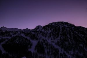 snow purple long exposure photography mountain sky color black photographer night