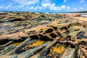 stones ocean stone wallpaper