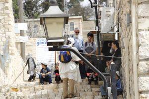 street jewish people israel random
