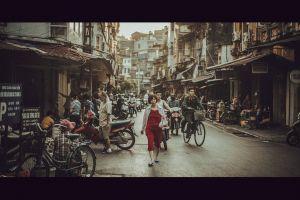 street portrait old age hanoi #vietnamese