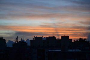 sunset bogota atardecer colombia frio cold