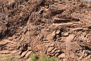 texture rocks red rocks sedimentary rock