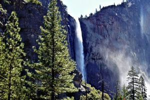 traveling nature rocks rock face waterfall nature park forest wanderlust scenic yosemite