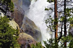 usa rocks idyllic nature photography tourist destination nature wallpaper idyll repose trees yosemite valley