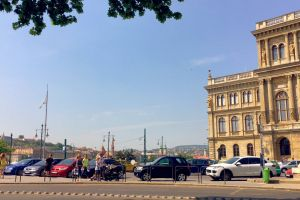 vehicles city cars hungary people parked budapest