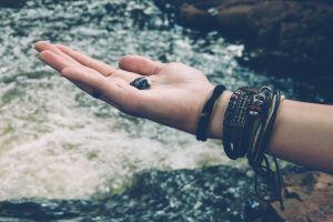 vintage concha do mar montanhas beleza natural mãe natureza fazer trilha hippie viagem trilha concha