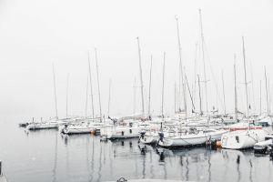 wallpaper watercraft yacht dawn no person sailboat boat seashore sky port