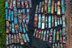water industry sale architecture town color dock souvenir urban pier