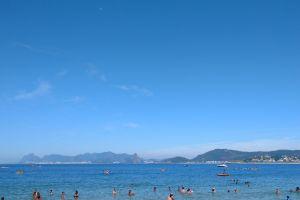 weekend beach sunny day ocean