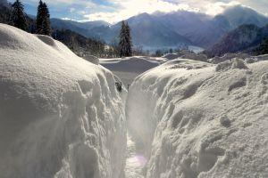 winter landscape winter wonderland snowy winter tyrol snow