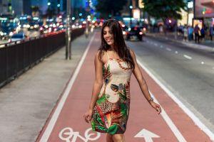 woman road fashion model person beauty beautiful