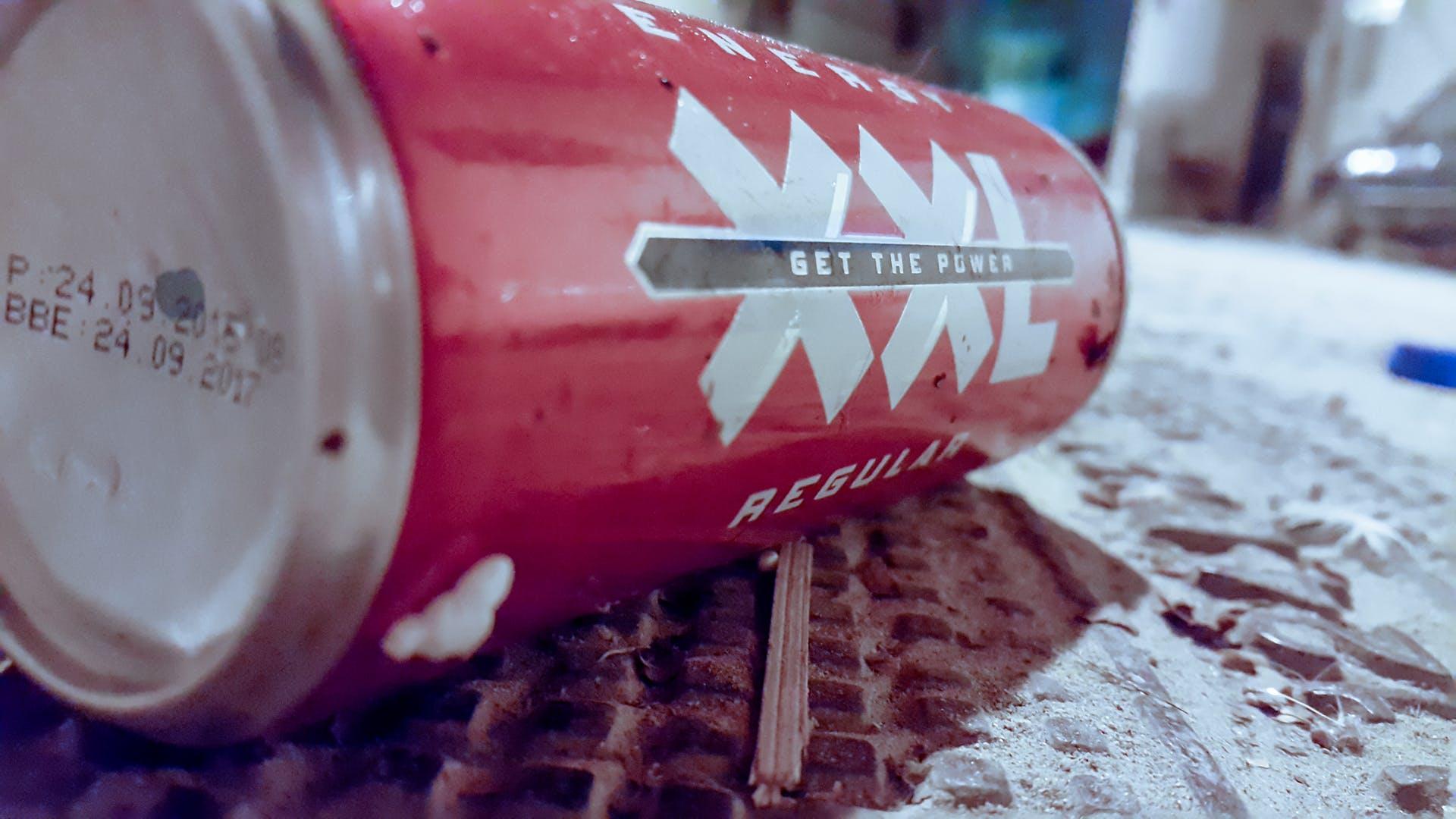 xxl red street drink ene energy blur