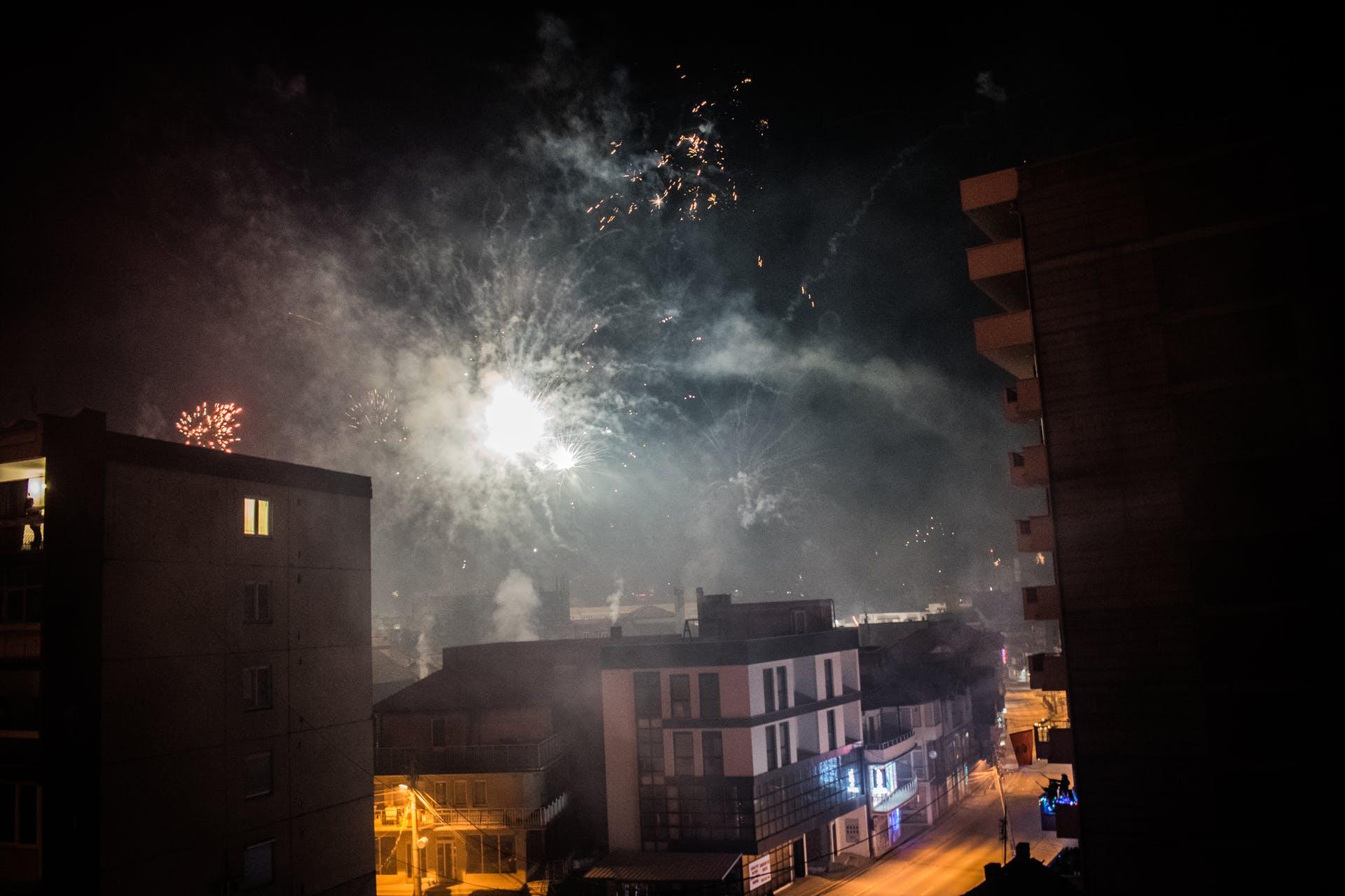 new year firework hd wallpaper